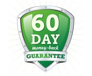 60 days money back guaranteed