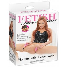 Vibrating Mini Pussy Pump Fetish Fantasy Series