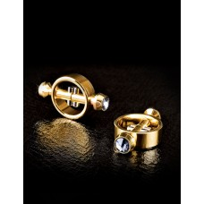 GOLD Magnetic Nipple Clamps Metal Worx