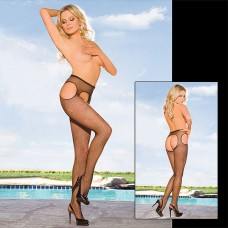 Crotchless Fishnet tights Pantyhose
