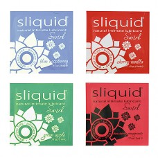 Sliquid Naturals Swirl Pillow Lubricants 10ml