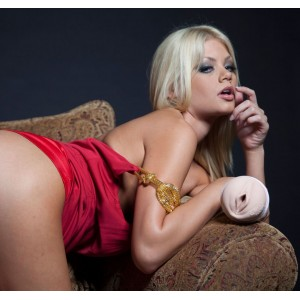 Fleshlight girl Riley Steele Nipple Alley Vagina