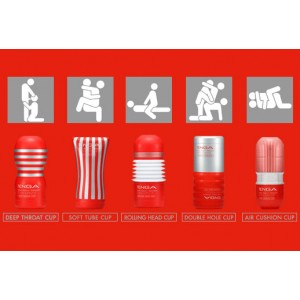 All the tenga cups in one go!
